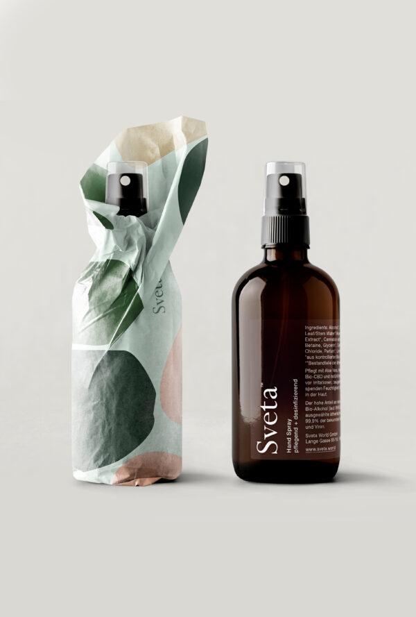 Sveta CBD Hand Spray mit Aloe Vera | 100 ml
