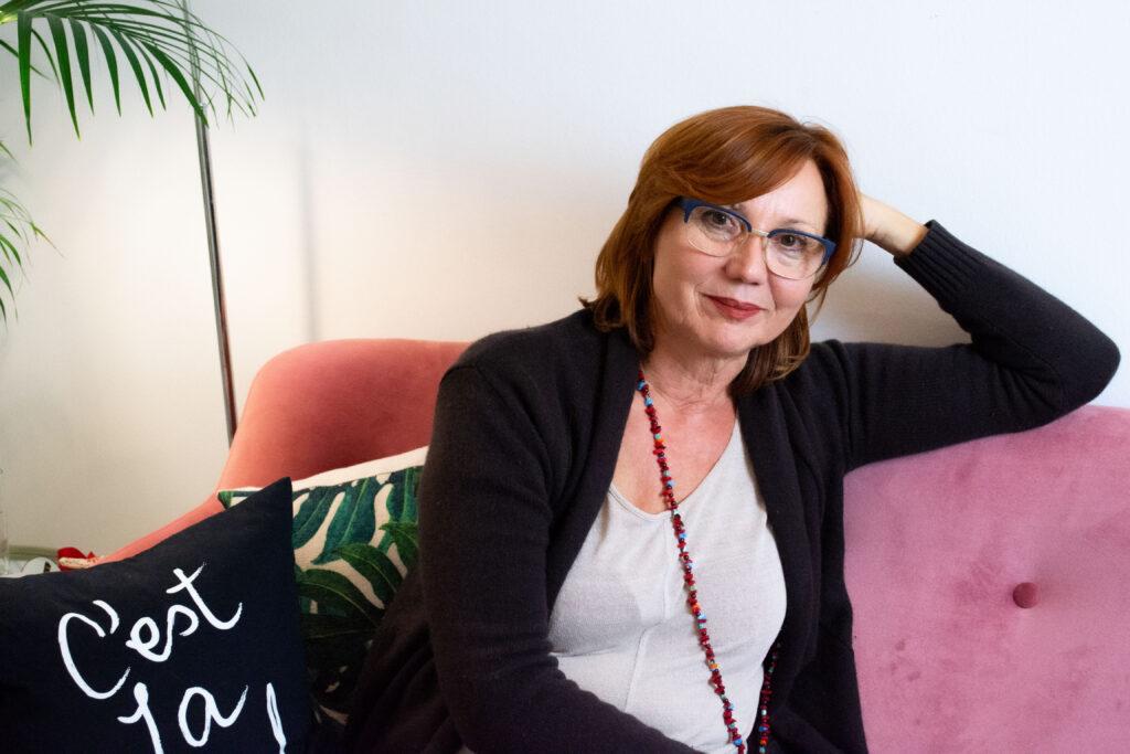 Herrlich ehrlich, unbeschreiblich weiblich: Svetlana Ilic ist Aufsteigerin, Umsteigerin, Neueinsteigerin, Mutmacherin.